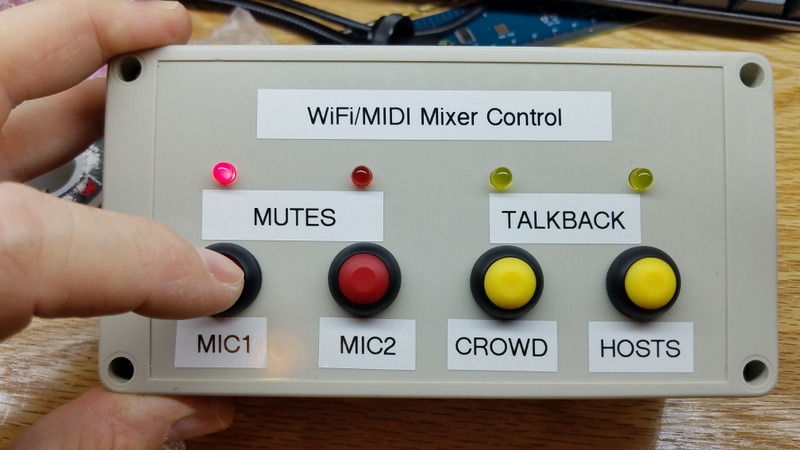 DIY WiFi/MIDI Remote control box for X-AIR: WORKIN    - Music Tribe